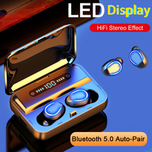 E&i 5.0 Bluetooth Earphones Wireless Headphones with mic Stereo Music in ear Headset Hifi Wireless