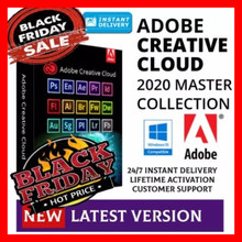 Adobe CC 2020 - 2021 Win 10 / Mac - Photoshop, Illustrator, After Effect, premipro, InDesign, lighroom