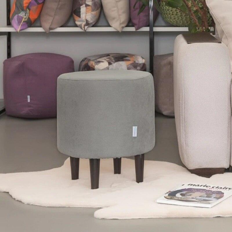 Divani Sacchetto di fagiolo Delicatex Kioto seryiy Pouf Imbottito sgabello pouf mobili soggiorno decorativi