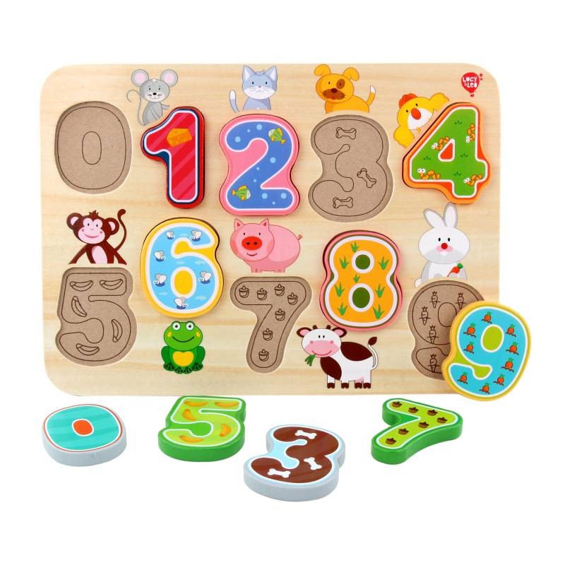 LL197, Puzzle Numbers