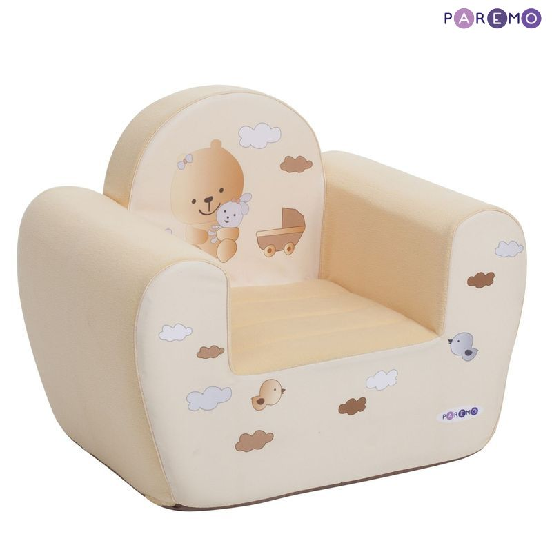 Children's Sofas PAREMO  Paremo Mimimi Series Game Chair Baby Bee Children\'s Furniture Toy Armchair Gifts For Girls Children's Furniture For Children For Kids Set Ottoman Play Chair Children's Sofa Chair Soft