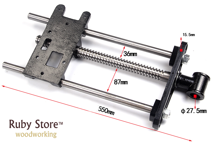 Tools : 10inch  260mm  Heavy Duty Woodworking  Front Vice for Workbench