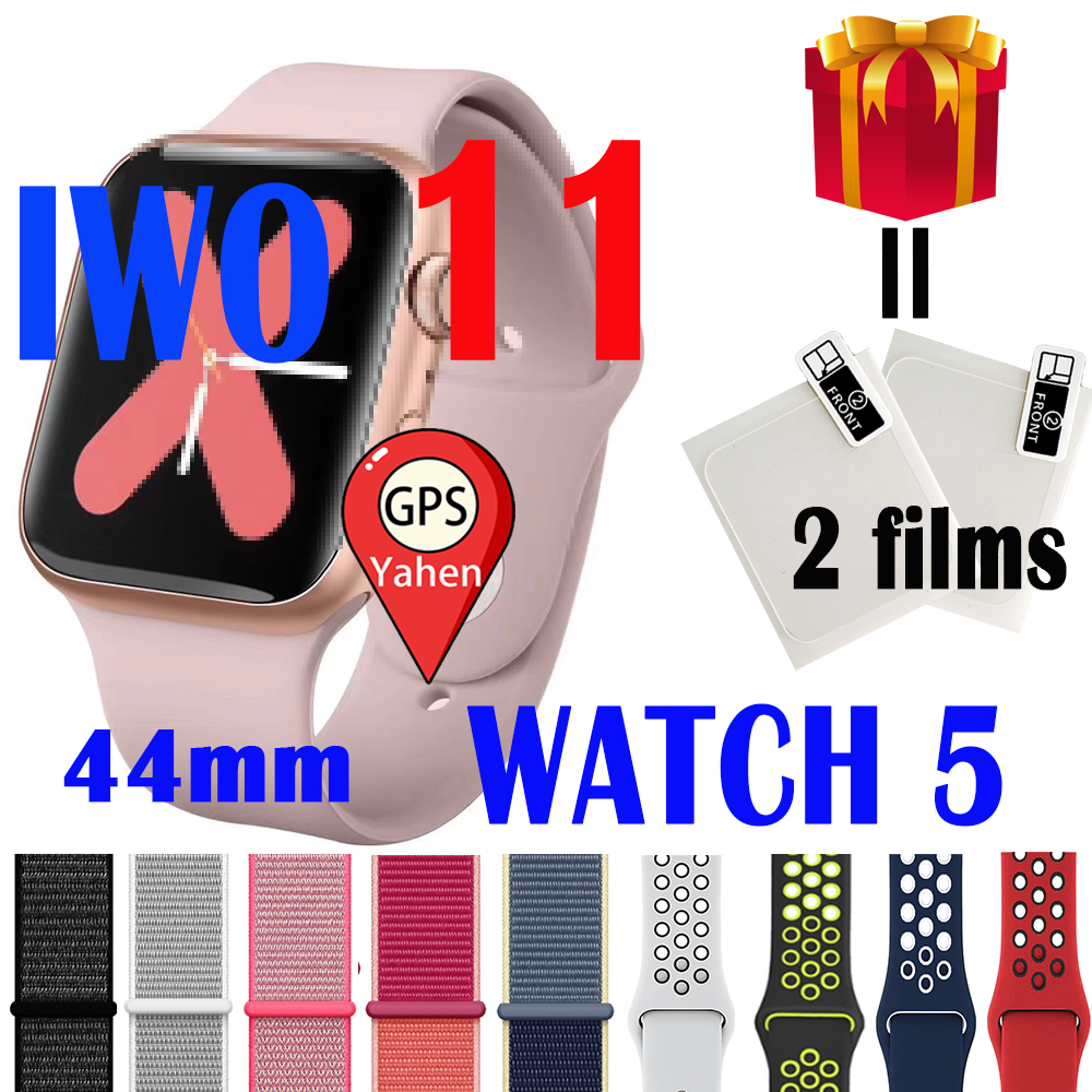 IWO 11 GPS smart watch homme Bluetooth Smartwatch 1:1 Pour Apple iOS Android Téléphone Horloge intelligente PK IWO 12 Pro 8 Plus Montre 13 image