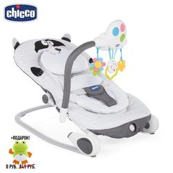 Креслице-качалка Chicco Balloon  + подарок Игрушка для ванной Chicco Кит 6м+