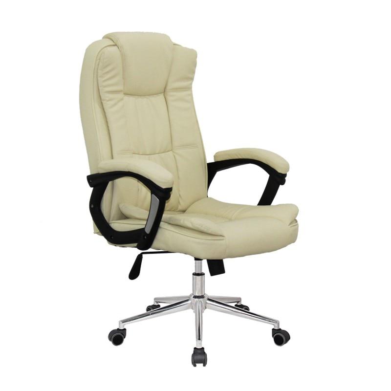 Office Armchair DUKE (H), High, Gas, Tilt, Similpiel Beige