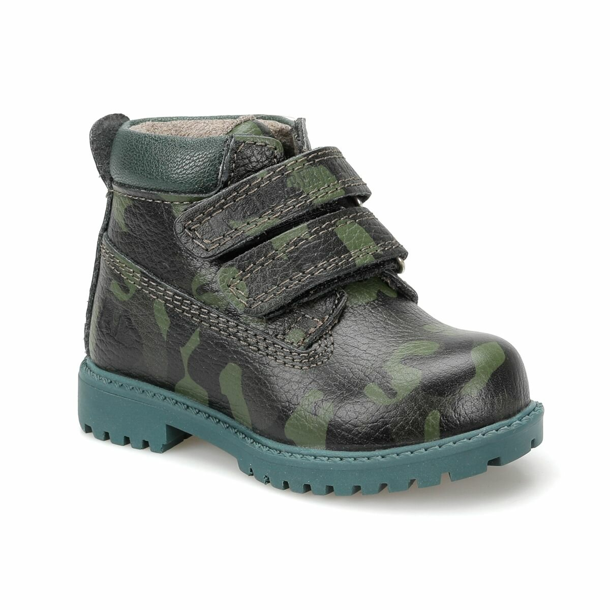 FLO RIVER PUB Dark Green Male Child Boots LUMBERJACK