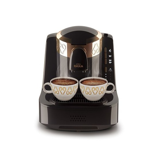 Máquina de café turco Arzum Okka OK001 | máquina de café | automática | 2 tazas de capacidad media | Manguera de 4 vías de 1