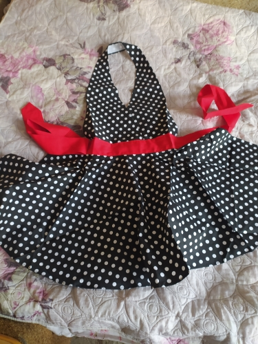 Lovely Retro Apron for Woman photo review