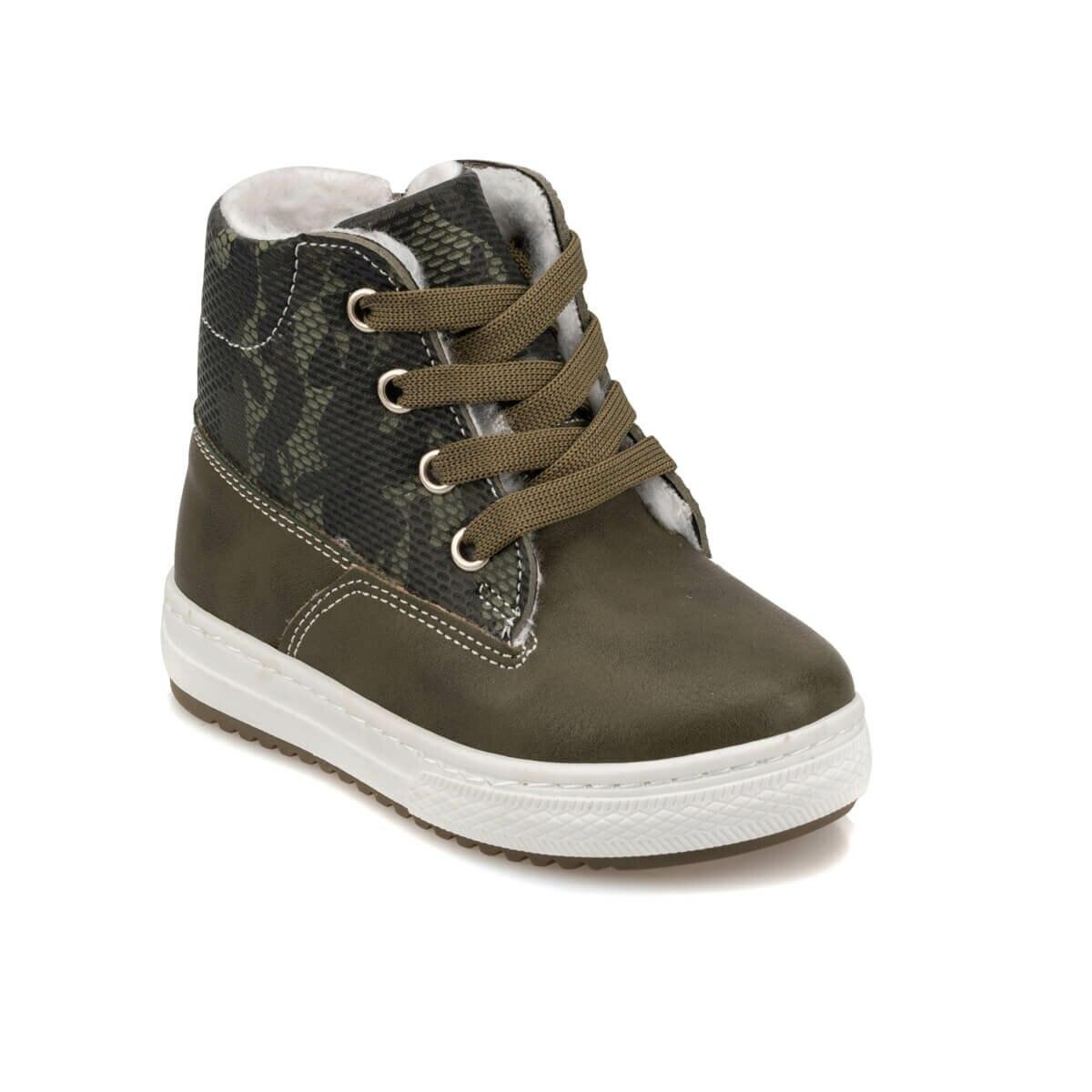 FLO 92.511729.B Khaki Male Child Sneaker Shoes Polaris