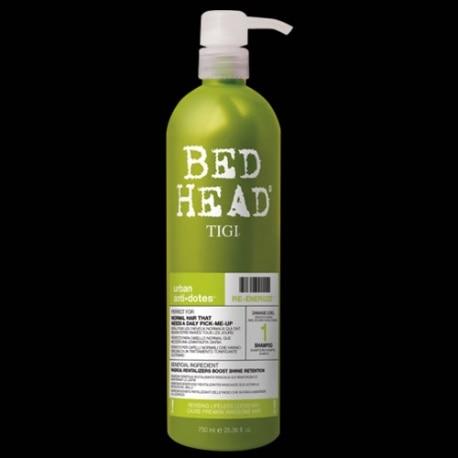 BED HEAD URBAN ANTI-DOTES RE-ENERGIZE SHAMPOO 750ML