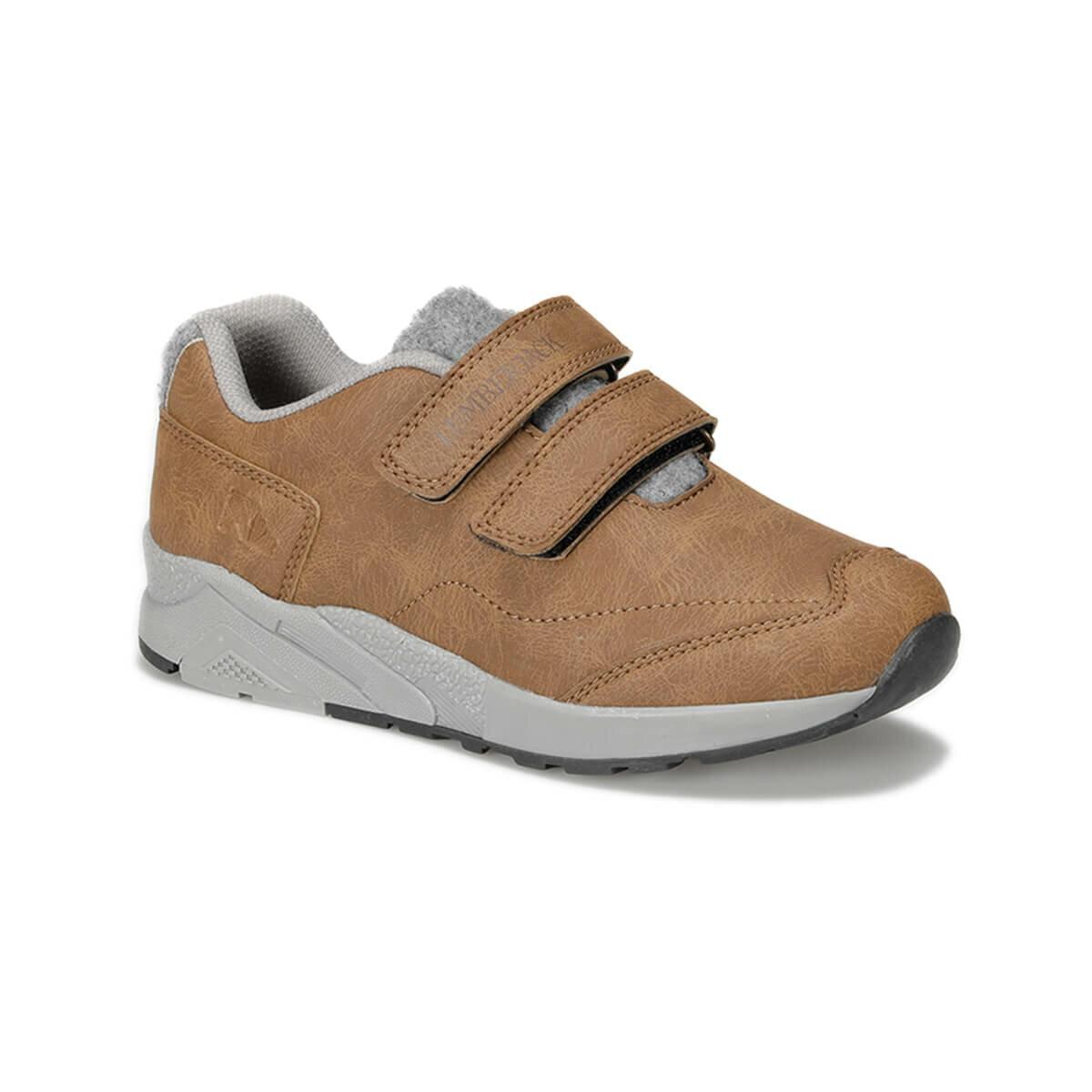 FLO BAER 9PR Tan Male Child Hiking Shoes LUMBERJACK
