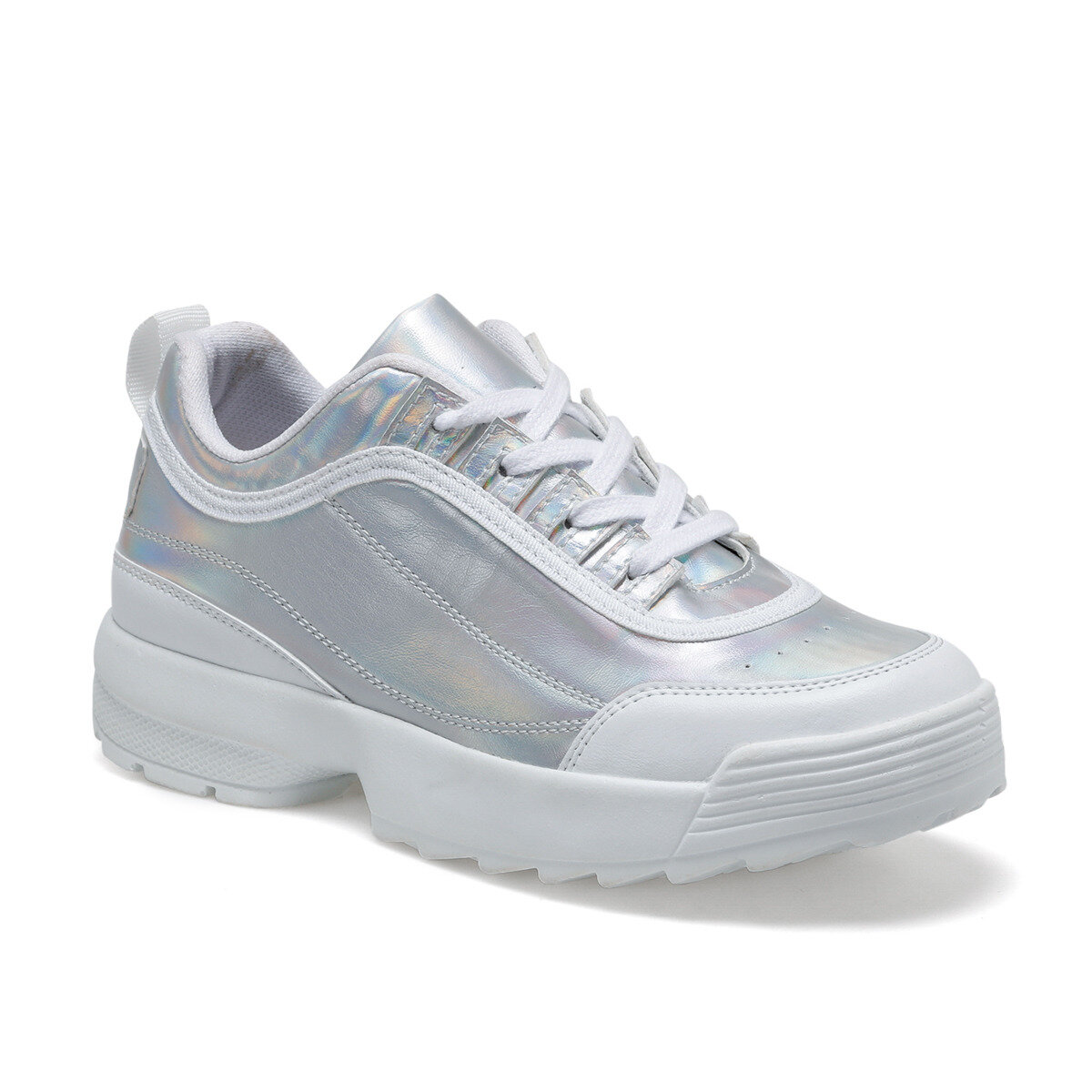 FLO 20S-335 Silver Women 'S Sneaker Shoes BUTIGO