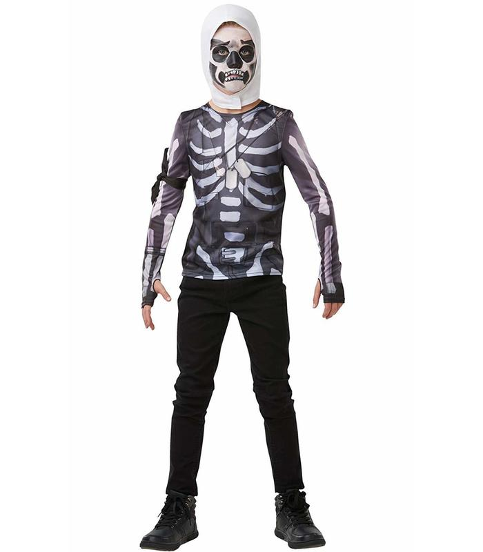 T-shirt Skull Trooper Fornite AD Toy Store Articles Created Handbook