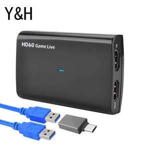 5PCS Y&H HDMI Video Game Capture Card for Live Streaming ezcap266