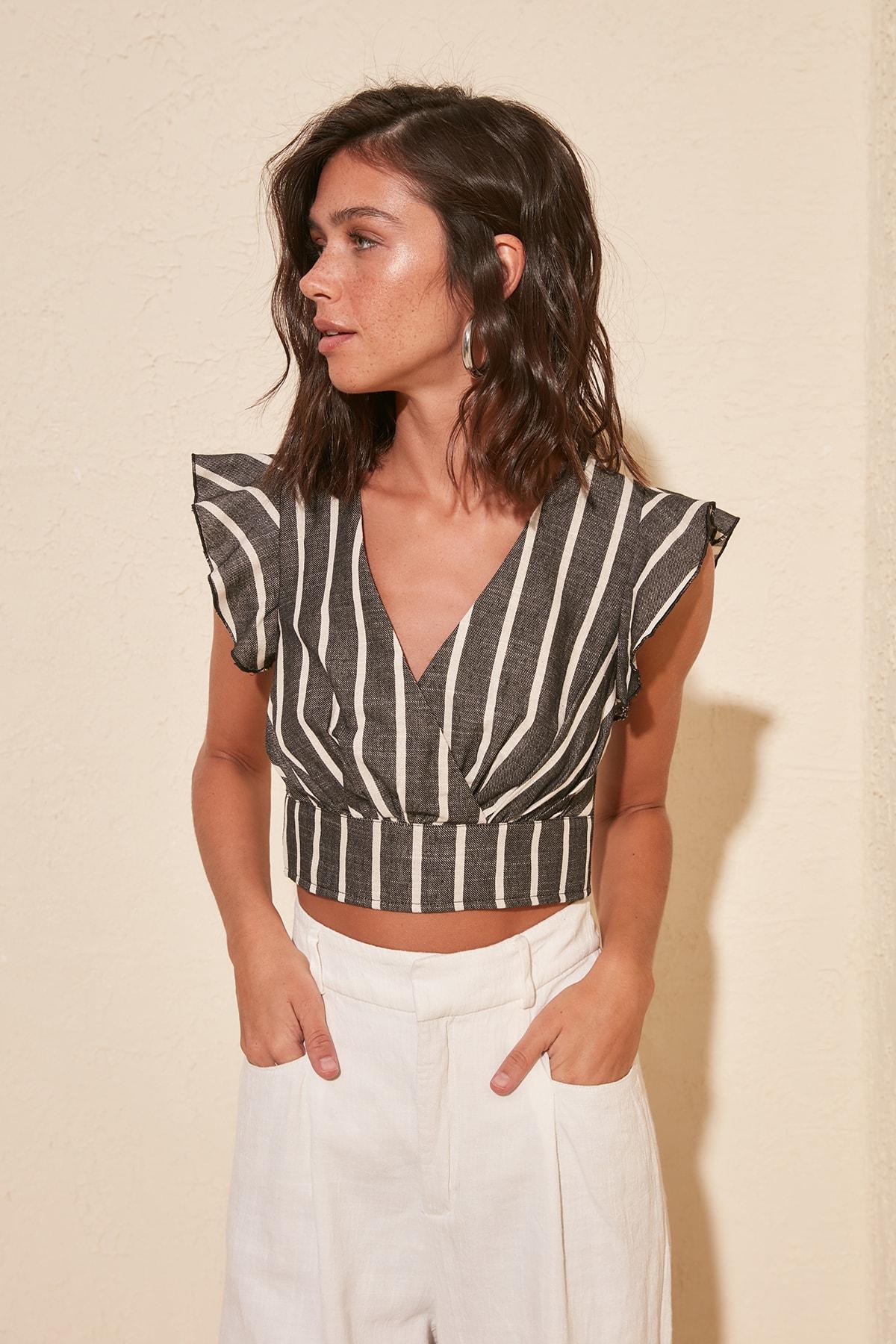 Trendyol Striped Blouse TWOSS20BZ0838