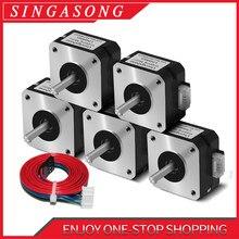 Usongshine – moteur Nema 17 pour Titan extrudeuse à 4 têtes 1.0 A Nema 17 42 pour pièces d'imprimante 3D CNC, 17HS4023