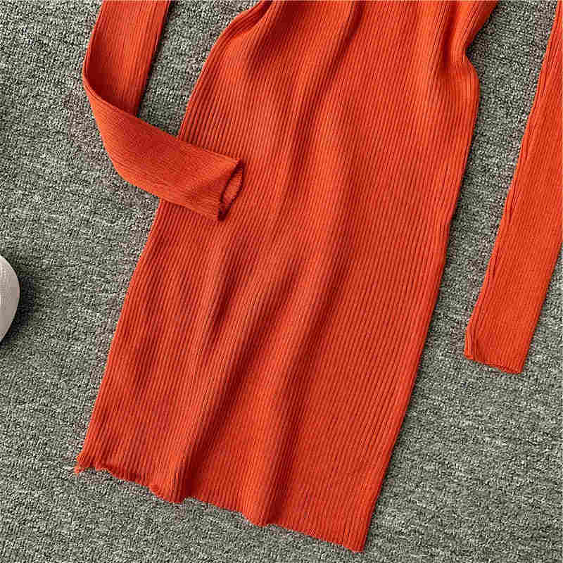Women Knitted Lurex Dress Halter V Neck Winter Hollow-out Sexy Pencil Dress Slim Bodycon Party Vestidos Sweater Dresses