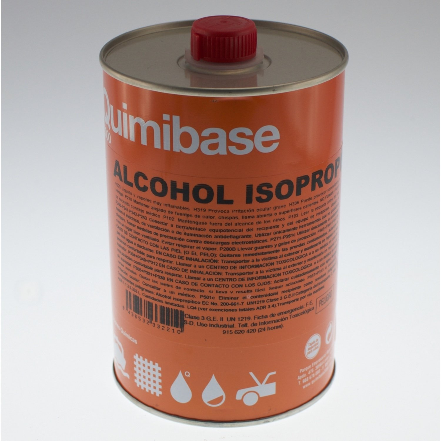 Bottle Isopropyl Alcohol 1 Liter IPA|Ultrasonic Cleaners| |  - title=