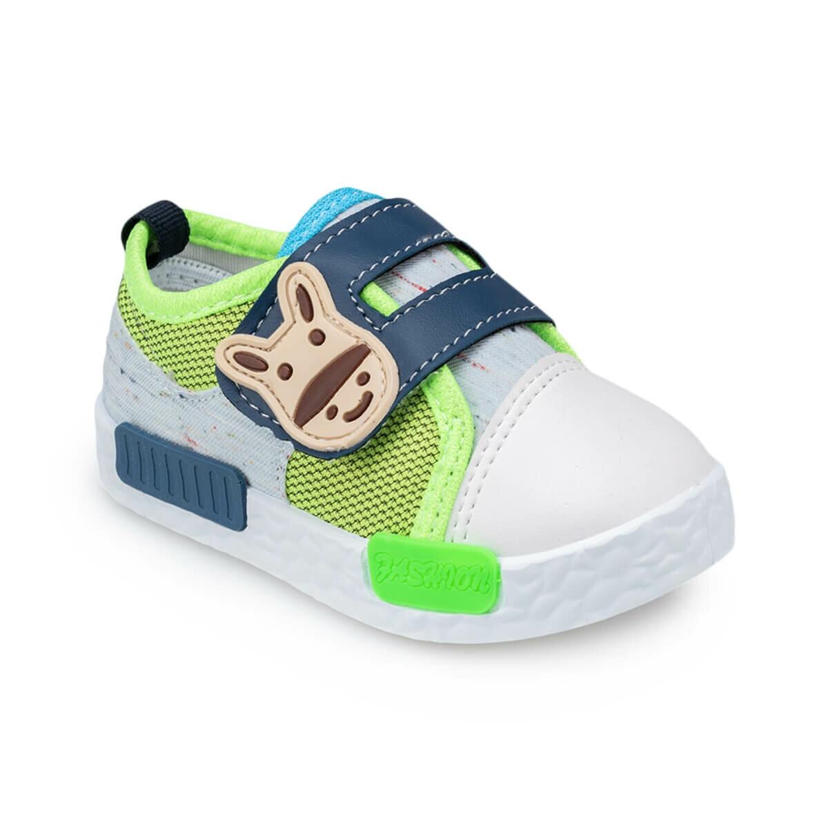 FLO 91. 510176.I Green Male Child Sneaker Shoes Polaris