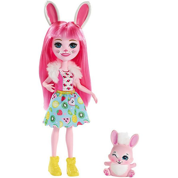 Doll With Your Favorite Animal Enchantimals Bree Bunny And Twist