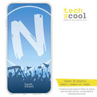 FunnyTech®Support étui pour samsung Galaxy A8 Silicone Plus (2018) L Forza Napoli vers.2