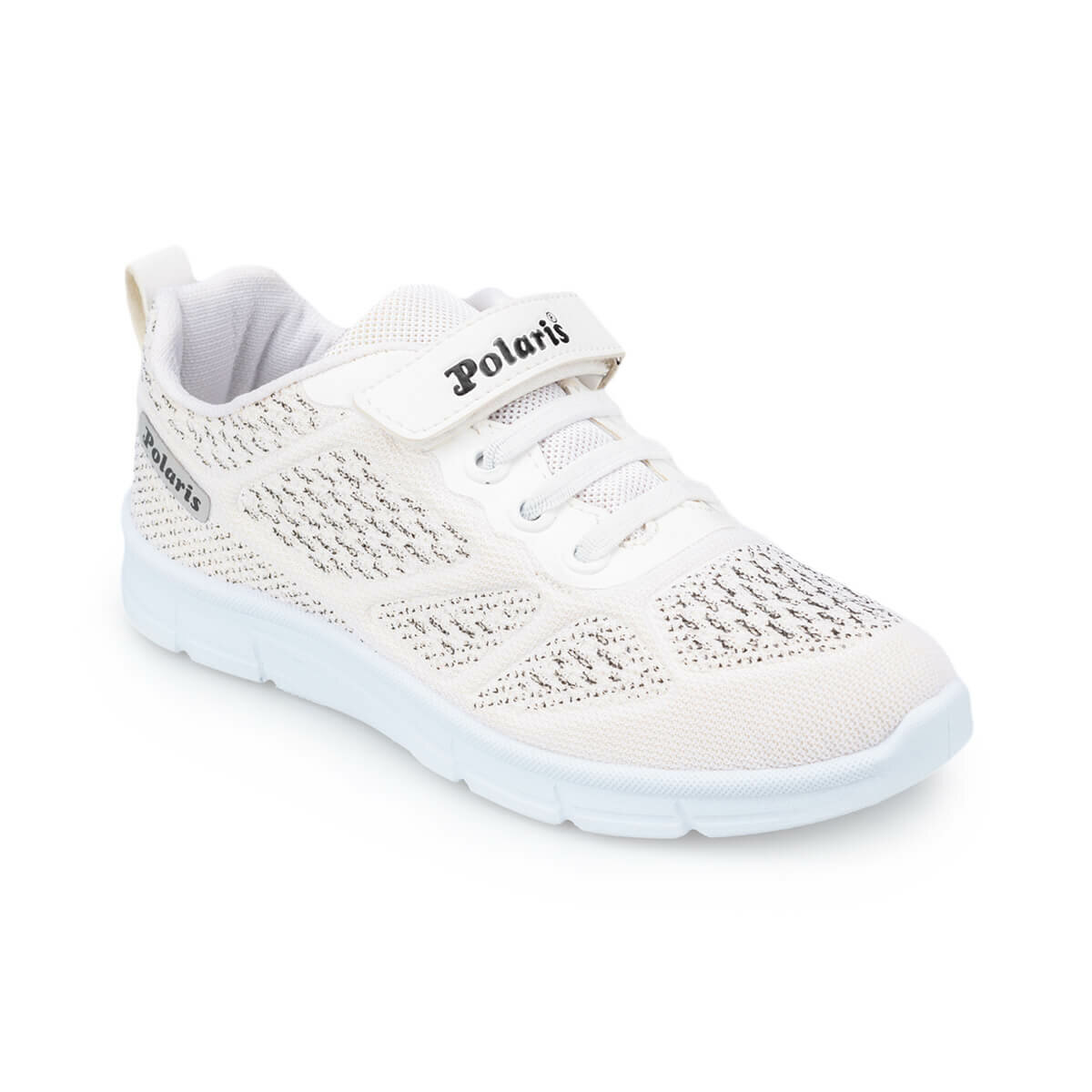 FLO 91.511228.F White Female Child Shoes Polaris