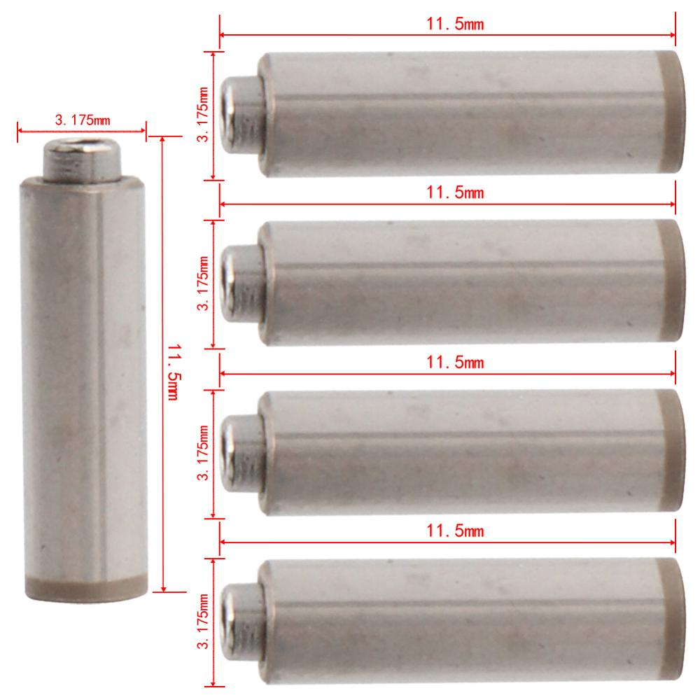 5pcs Spindle/Axis For Dental High Speed Handpiece Air Turbine 11.5mm*3.175mm Rotor Cartridge