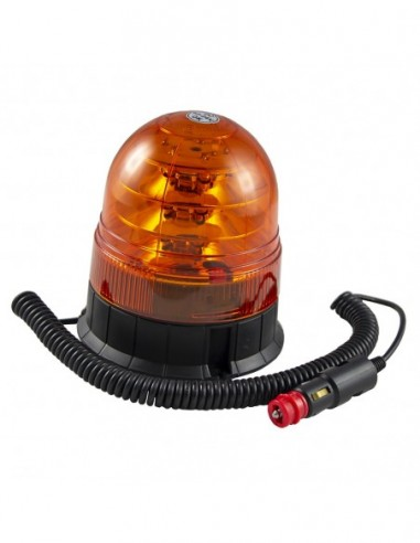 JBM 53130 ROTATING Warning Light FLASHING LED 12-24V R65