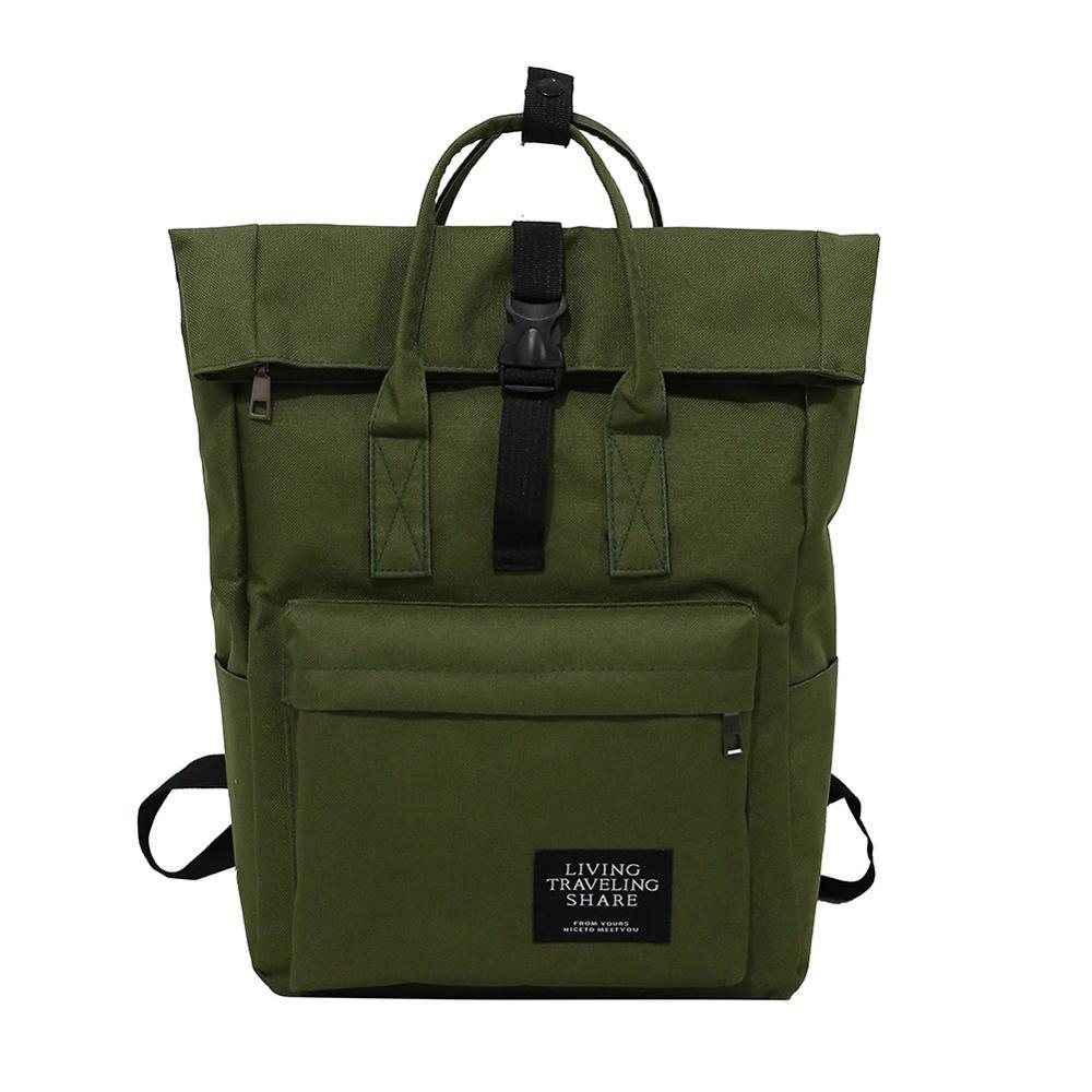 New Women Preppy Large Backpack Canvas/Nylon Travel Backpack Male Mochila Escolar Girls Laptop Backpack School Bags For Teens
