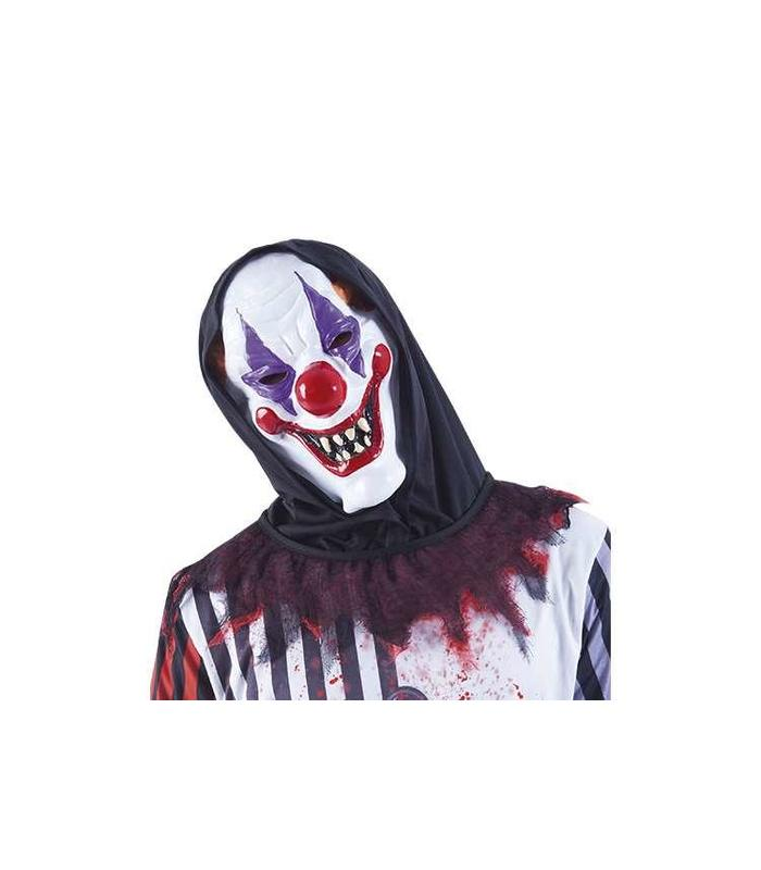 Mascara Crazy Clown Hooded Toy Store