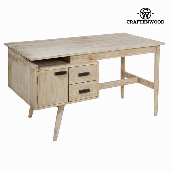 Desk Mindi wood (140 x 70 x 76 cm)   Pure Life Collection by Craftenwood|  - title=