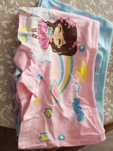 4Pcs/Lot Cartoon Underpants Baby Boxer Kids Underwear Cotton Panties Calcinhas Infantis 2-10Y photo review