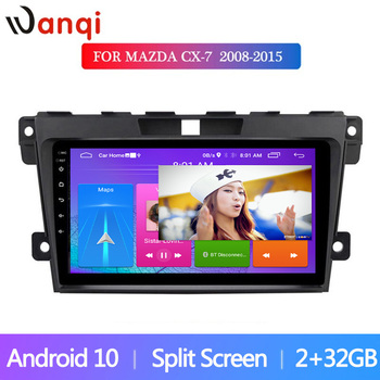 Android10 Car Radio 9 inch For Mazda CX7 2008-2015 Autoradio Multimedia Player Stereo Navigation GPS WiFi Mirror Link Video image