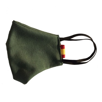 Spain flag mask-Military-olive green-craft olive green how to cook fish