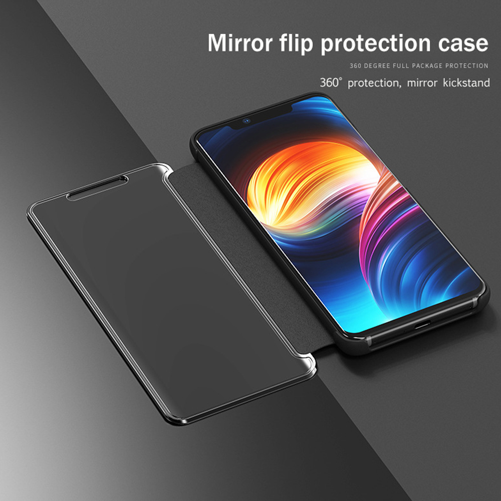 Led type case View / Clear View Standing Cover for Samsung A20S A40S M30 A30S A50 Note 10 Note 10 + S20 + S20 S20 Ultra S8 and S9