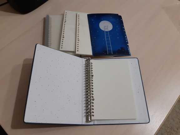 """Отзывы о """"Хорошая ночь"""" свободный лист ноутбук большая спираль Жесткая обложка дневник выровненные бумаги Журнал Планировщик исследование блокнот"""