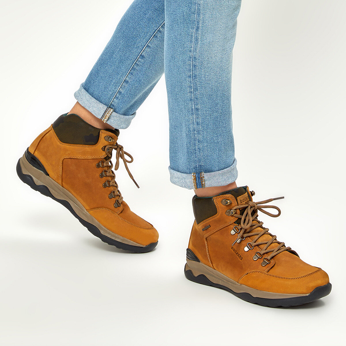 FLO 225411 9PR Yellow Male Outdoor By Dockers The Gerle