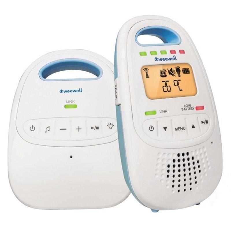 Ebebek Weewell WMA420 Digital Baby Monitor 300 Mt