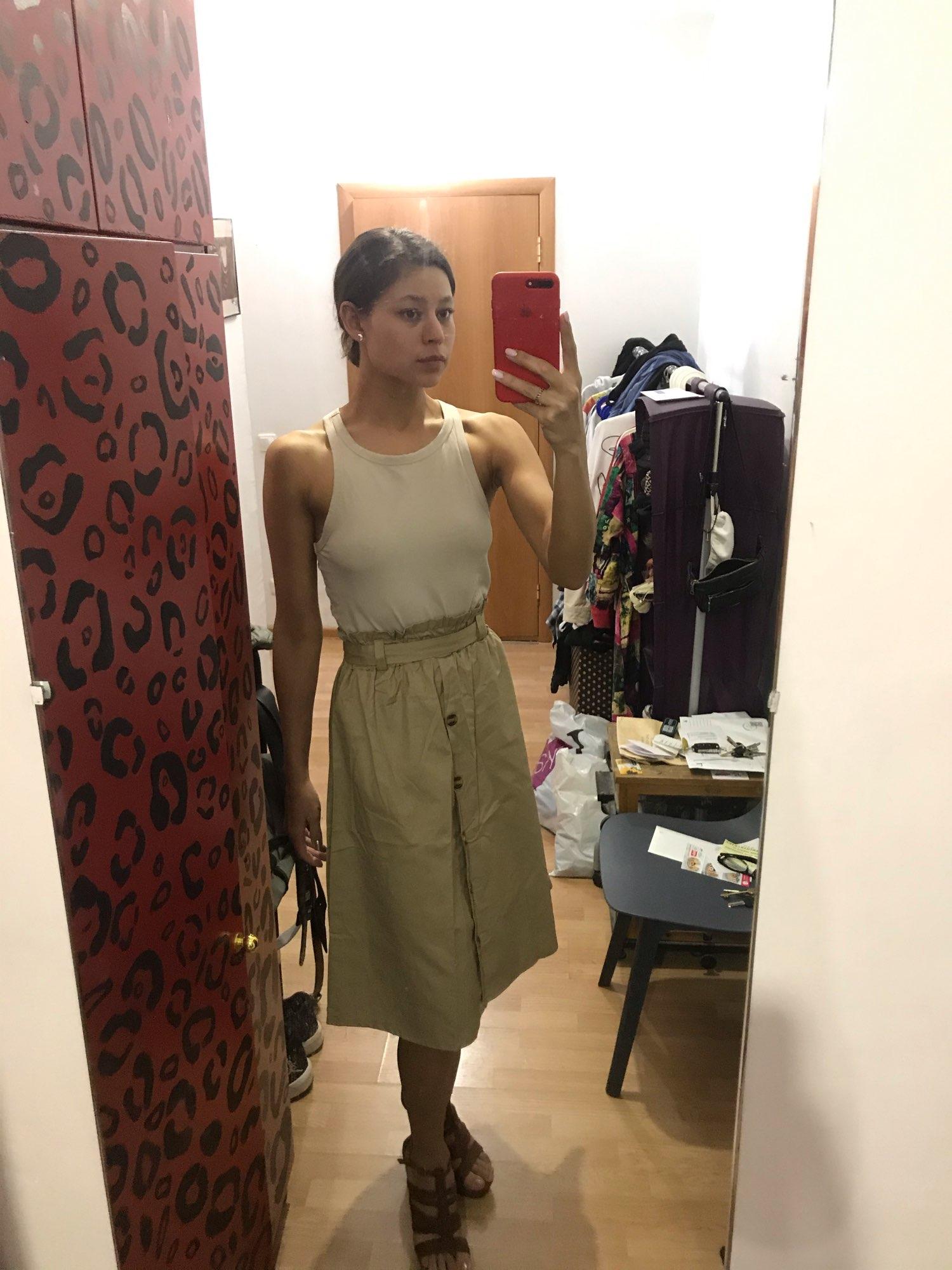 CRRIFLZ Summer Autumn Skirts Womens Midi Knee Length Korean Elegant Button High Waist Skirt Female Pleated School Skirt Skirts    - AliExpress