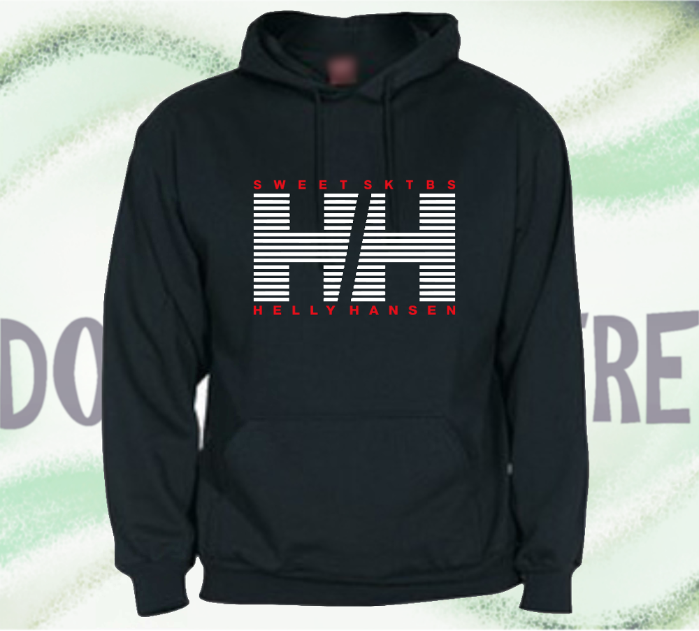 Sweatshirt with Hood type HELLY HANSEN striped man woman CHILD