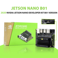 2020 neue NVIDIA Jetson Nano B01 Entwickler Kit B01 version linux Demo Board Tiefe Lernen AI Entwicklung Bord Plattform-in Demo-Board aus Computer und Büro bei