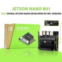 2020 nova nvidia jetson nano b01 desenvolvedor kit b01 versão linux placa de demonstração aprendizagem profunda placa desenvolvimento ia plataforma|Quadro demonstração| |  -