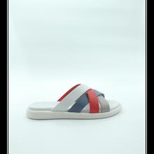 Ülkü Yaman Collection - White Women's Slippers Women's Flat Slippers 2021 Summer Women Shoes Models Women's Shoes