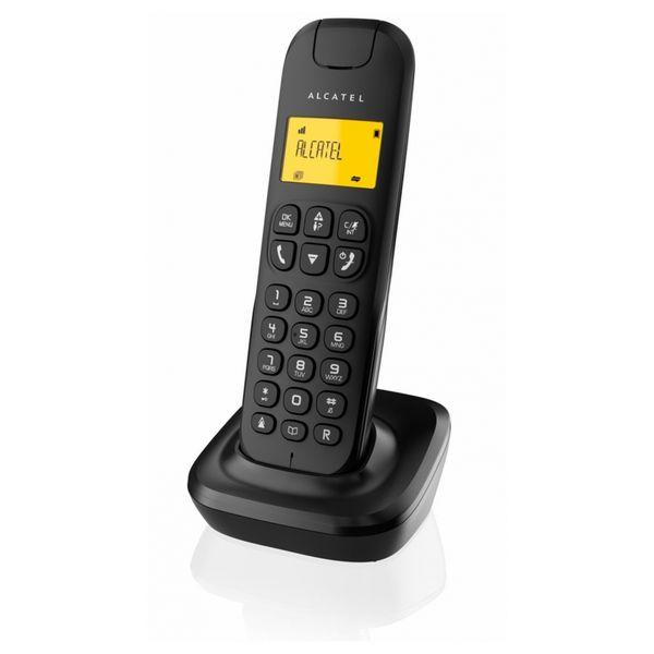 Беспроводной телефон Alcatel D-135 DECT Black