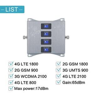 Image 2 - 유럽 중계기 4G LTE 800 900 1800 2100 4g 인터넷 증폭기 모바일 신호 부스터 GSM 2g 3g 4g 휴대 전화 신호 중계기