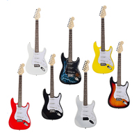 Electrical Silence Guitar 21 Frets Cool Plastic Practice 6 Strings Acoustic Guitar Trainer Tool Parts Gadget for Beginners