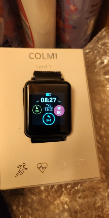 COLMI Land 1 Full touch screen Smart watch IP68 waterproof Bluetooth Sport fitness tracker Men Smartwatch For IOS Android Phone-in Smart Watches from Consumer Electronics on AliExpress
