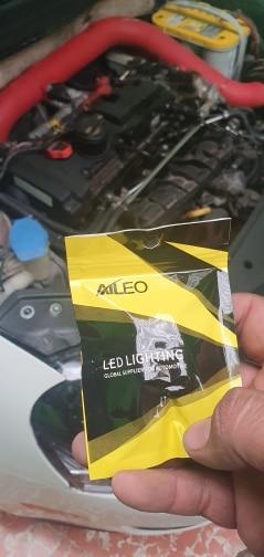 AILEO-bombillas LED de alta potencia para coche, luz de marcha atrás, superbrillante, 1156 BA15S P21W S25 7506, 45 Uds., 4014SMD