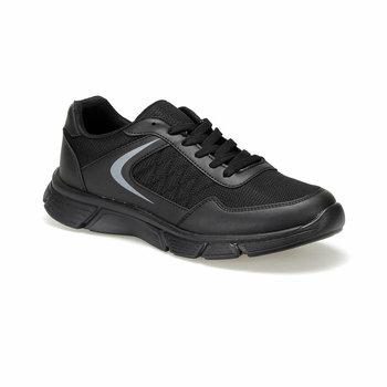 FLO REMUS czarne męskie buty do biegania Torex tanie i dobre opinie Sztuczna skóra