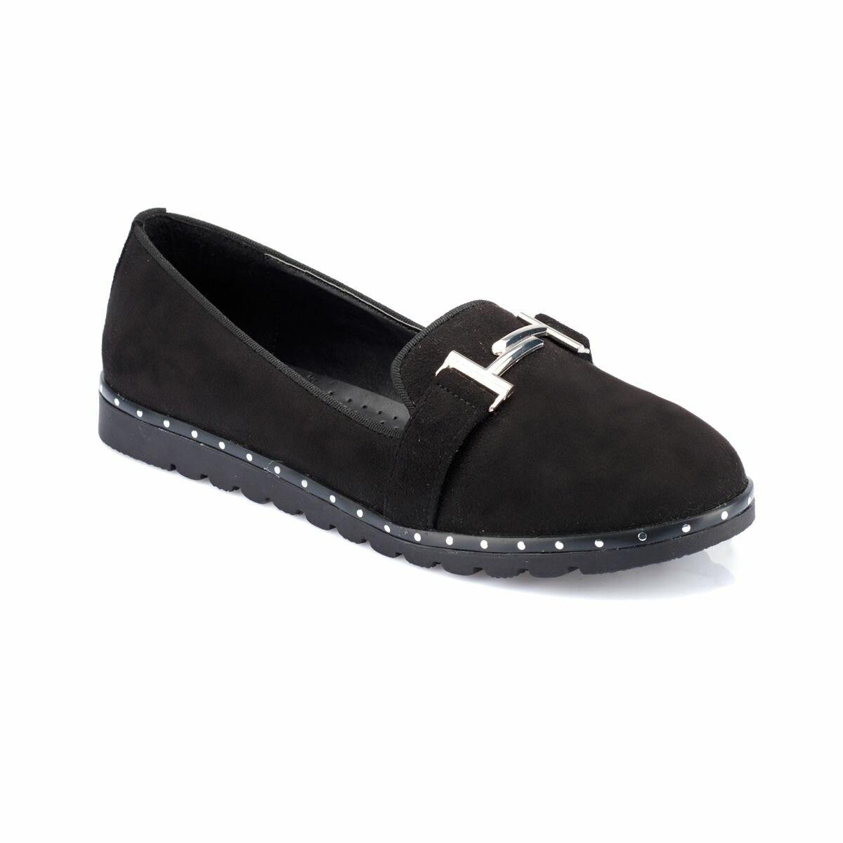 Flo 82.312041sz preto sapatos femininos polaris